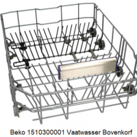Beko 1510300001 Vaatwasser Bovenkorf