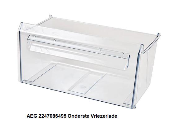 AEG 2247086495 Onderste Vriezerlade verkrijgbaar bij ANKA