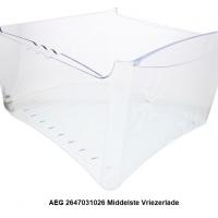 AEG 2647031026 Middelste Vriezerlade