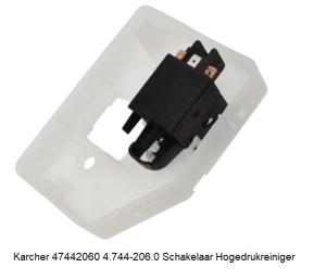 Karcher 47442060 4.744-206.0 Schakelaar Hogedrukreiniger verkrijgbaar bij ANKA