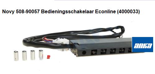 Novy 508-90057 Bedieningsschakelaar Econline (4000033) verkrijgbaar bij ANKA