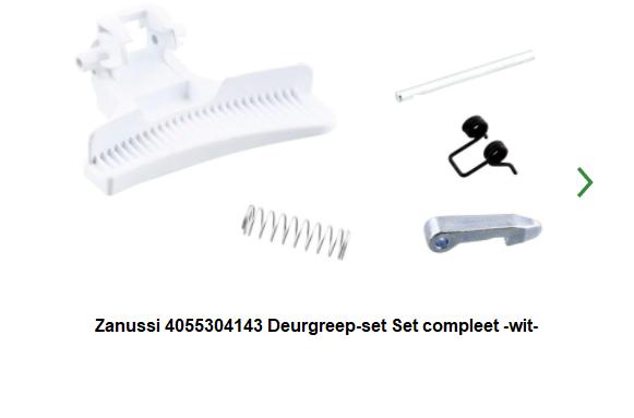 Ben je op zoek naar de Zanussi 4055304143 Deurgreep-set -wit- verkrijgbaar bij ANKA