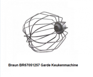 Braun BR67051257 Garde Keukenmachine verkrijgbaar bij ANKA