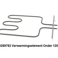 Bosch 00289782 Verwarmingselement Onder 1200W 220V