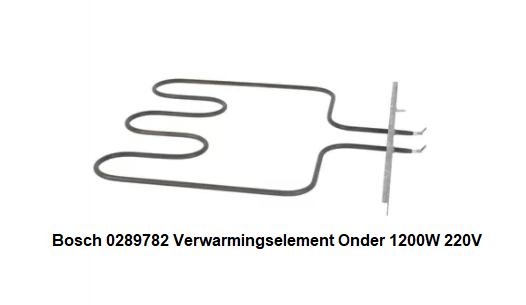 Bosch 0289782 Verwarmingselement Onder 1200W 220V verkrijgbaar bij ANKA