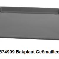 Bosch 00574909 Bakplaat Geëmailleerd, Grijs