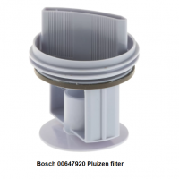 Bosch 00647920 Pluizen filter