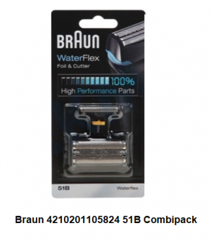 Braun 4210201105824 51B Combipack Waterflex verkrijgbaar bij ANKA