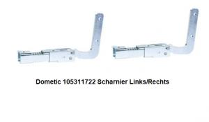 Dometic 105311722 Scharnier Links/Rechts verkrijgbaarf bij ANKA