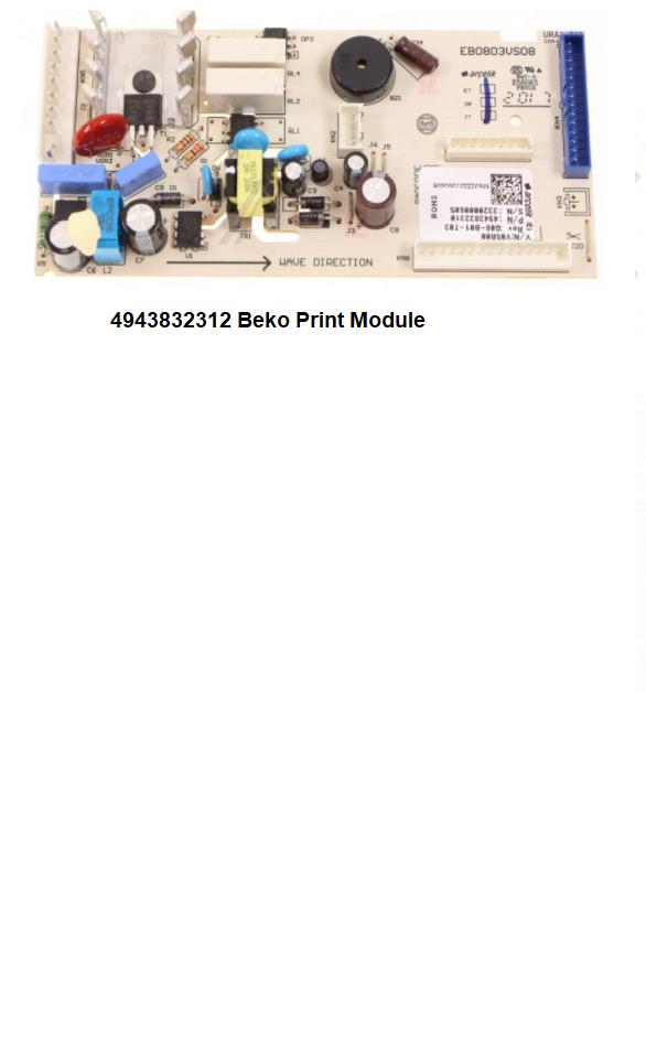 4943832312 verkrijgbaar bij ANKA Beko Print Module