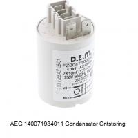 AEG 140071984011 Condensator Ontstoring