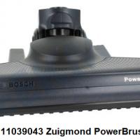 Bosch 11039043 Zuigmond PowerBrush, Zwart