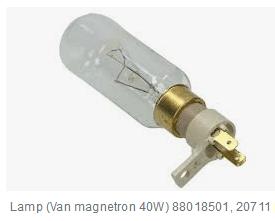 Pelgrim 20711 Lamp van magnetron 40W verkrijgbaar bij Anka Onderdelen