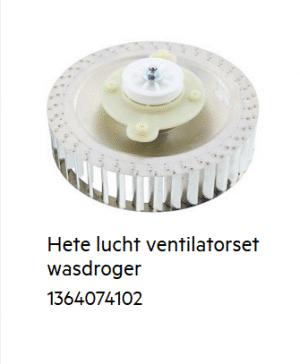 AEG 1364074102 Waaier Inclusief aandrijving verkrijgbaar bij Anka