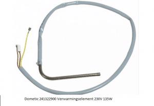 Dometic 241322900 Verwarmingselement 230V 135W verkrijgbaar bij Anka
