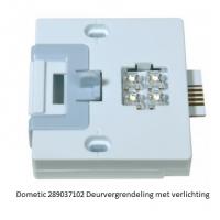 Dometic 289037102 Deurvergrendeling met verlichting