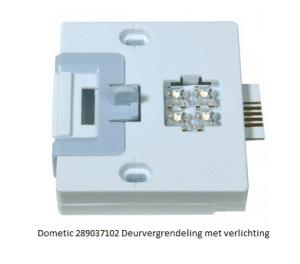 Dometic 289037102 Deurvergrendeling met verlichting verkrijgbaar bij Anka