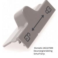 Dometic 241327200 Deurvergrendeling Schuif Grijs