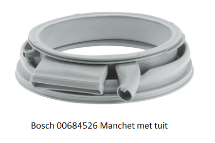 Bosch 600684526 Manchet Wasmachine verkrijgbaar bij anka