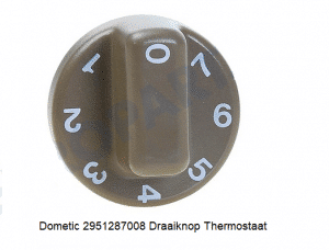 Dometic 2951287008 Draaiknop Thermostaat verkrijgbaar bij Anka