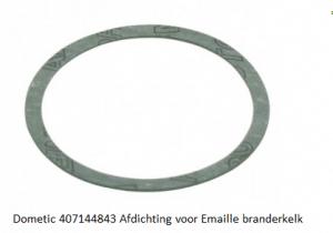 Dometic 407144843 Afdichting voor Emaillen branderkelk verkrijgbaar bij Anka