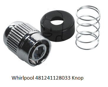 Whirlpool 481241128033 Knop Drukknop verkrijgbaar bij Anka