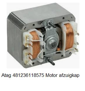 Atag 481236118575 Motor afzuigkap verkrijgbaar bij Anka