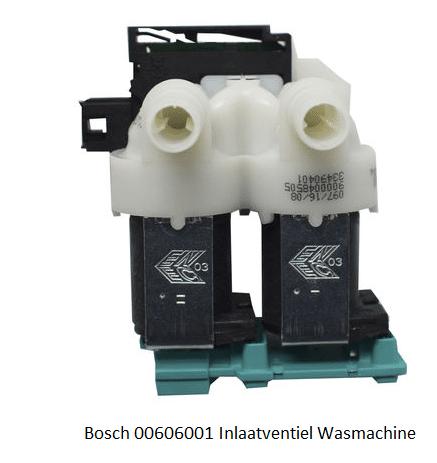 Bosch 00606001 Inlaatventiel Wasmachine verkrijgbaar bij Anka