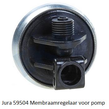 Jura 59504 Membraamregelaar voor pomp verkrijgbaar bij Anka