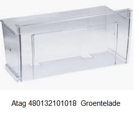 Atag 480132101018 Koelkast Groentelade verkrijgbaar bij Anka