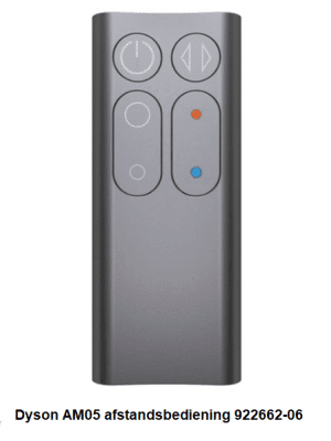 Dyson AM05 afstandsbediening 922662-06 verkrijgbaar bij Anka