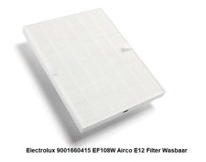 Electrolux 9001660415 EF108W Airco E12 Filter Wasbaar verkrijgbaar bij Anka
