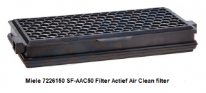 Miele 7226150 SF-AAC50 Filter Actief Air Clean filter verkrijgbaar bij Anka