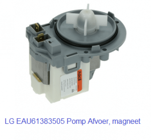 LG EAU61383505 Pomp Afvoer, magneet verkrijgbaar bij Anka